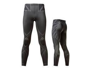 Prince×CW-X レボリューション[定価] 16,000円(+税)※販売価格とは異なります。 HXO699(MENS)HXY399(LADIES)[カラー] ブラック[サイズ] S・M・L※日本バドミントン協会審査合格品 サポートラインの縫い目をなくした新感覚タイツ。サポート性能を基本に、軽量化と肌への負担軽減を追求。