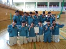 【女子】 [1位] 吉岡町立吉岡中学校